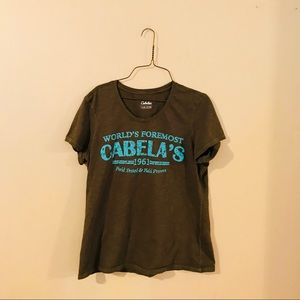 Cabela's Knit Tee Style Top